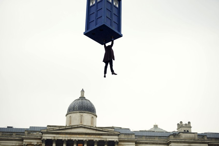 11th Hangs from the Tardis