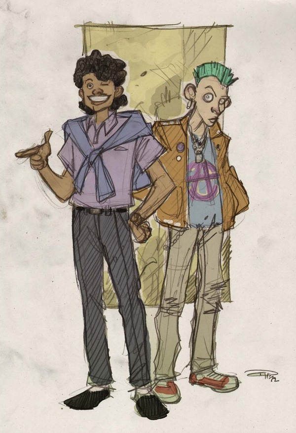 Lando and Greedo