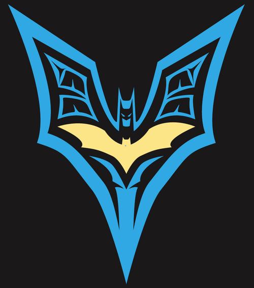 Bat-t-shirt design