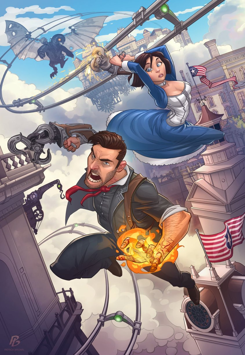 bioshock_infinite_by_patrickbrown-d636k85