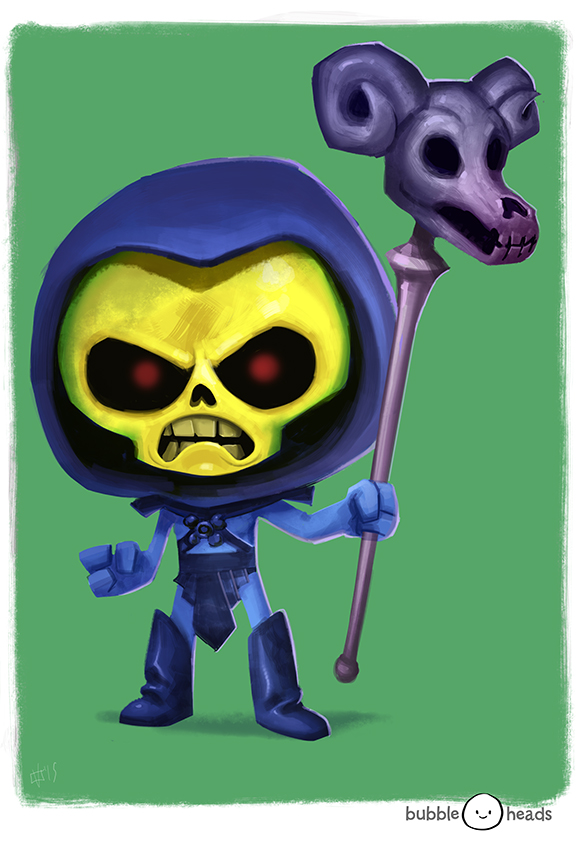 bubblehead__skeletor_by_jeffvictor-d93da3v