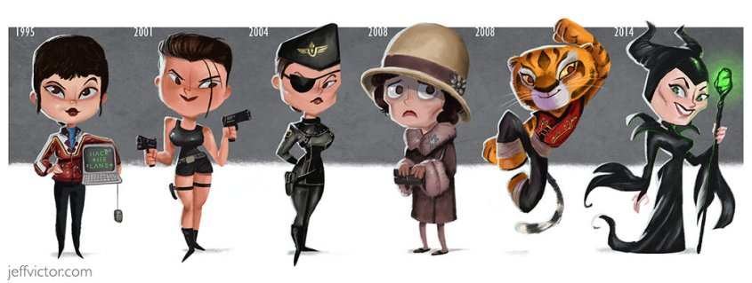 the_evolution_of_angelina_jolie_by_jeffvictor-d9gaah9