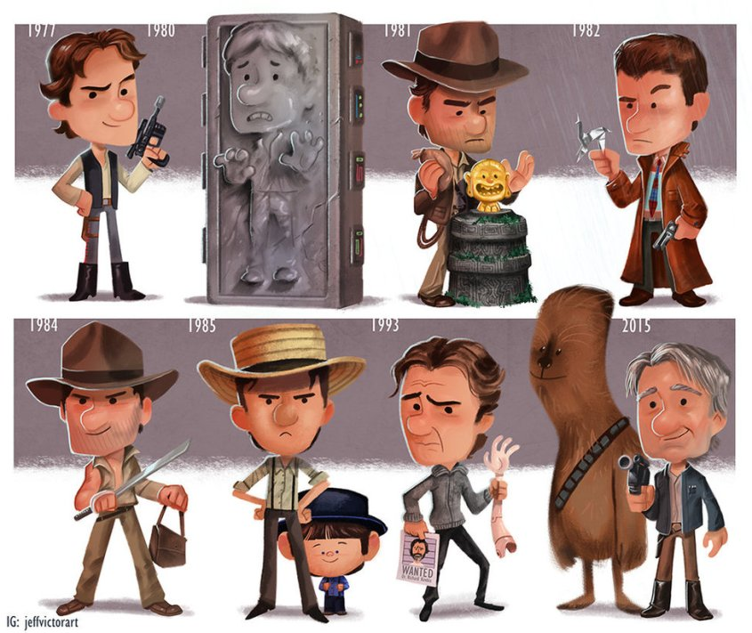 the_evolution_of_harrison_ford_by_jeffvictor-d9peso8