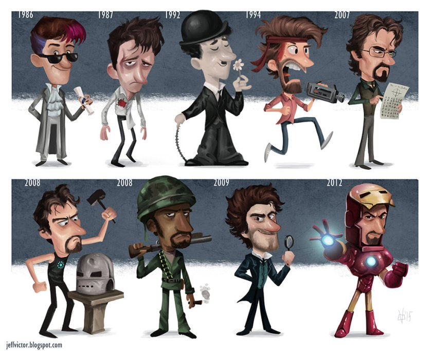 the_evolution_of_robert_downey_jr_by_jeffvictor-d97yqpd