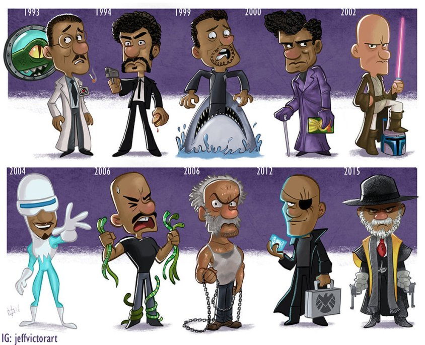 the_evolution_of_samuel_l_jackson_by_jeffvictor-d9ooa29