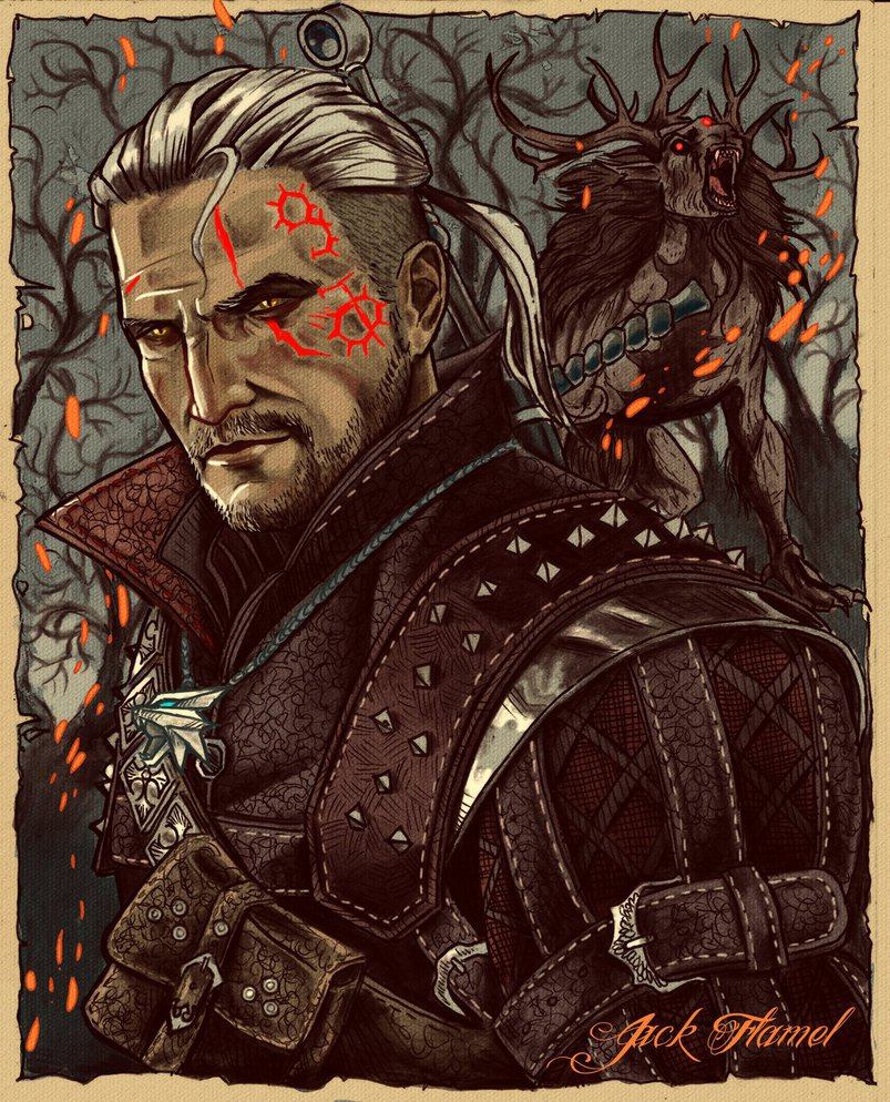 the_witcher_by_aquiles_soir-d9m47zr