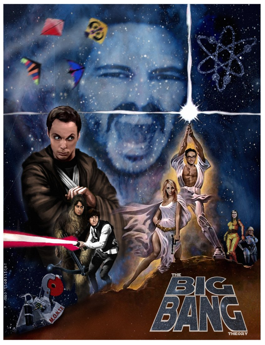 big_bang_theory_star_wars_poster_by_rabittooth-d4ngl7q