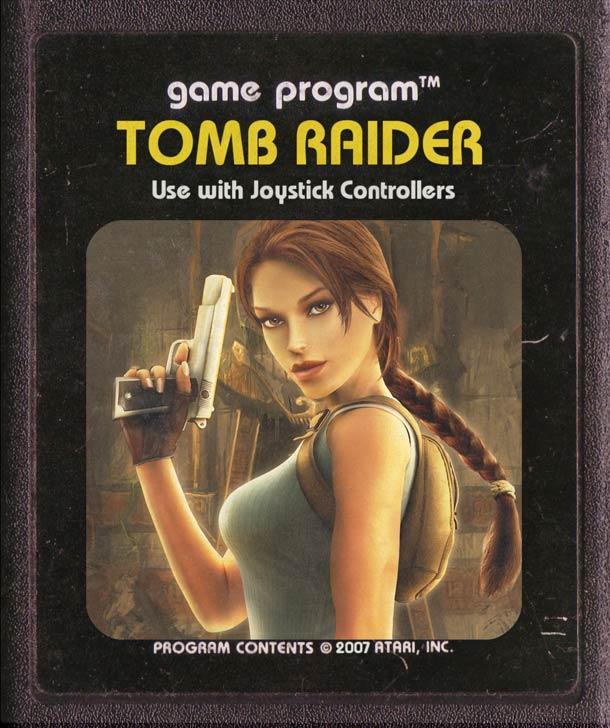 Tomb Raider Atari
