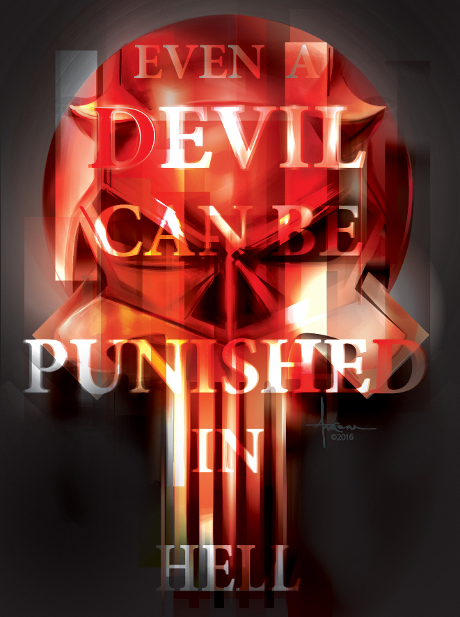 PUNISHED DEVIL- Orlando Arocena_vector_2016