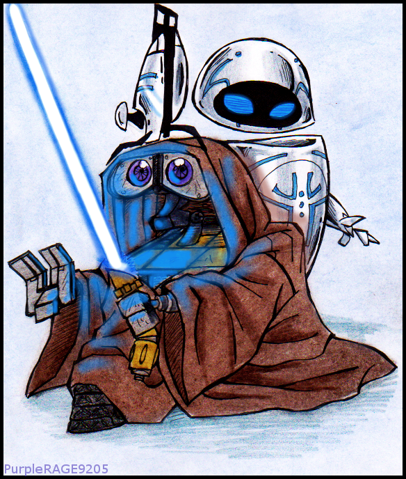 wall_e_and_star_wars_by_purplerage9205-d4dejb6