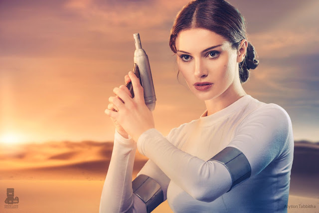 padme cosplay star wars