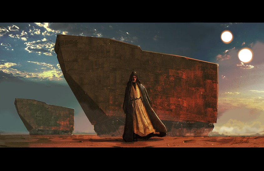 tatooine_at_dusk_by_livioramondelli-d8l7xlk