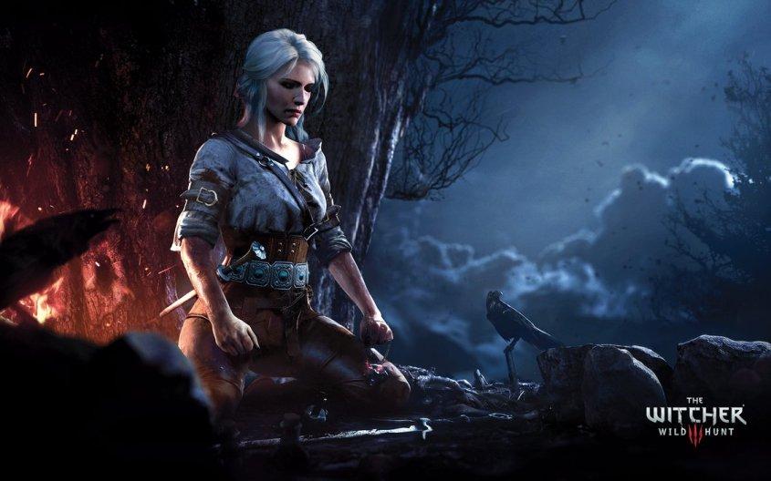 ciri_meditating___the_witcher_3__wild_hunt_by_wojciechfus-d9fj2kj