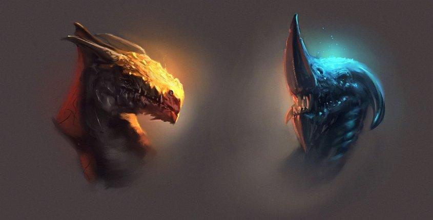 dragon_heads_by_wojciechfus-d6dp8ok