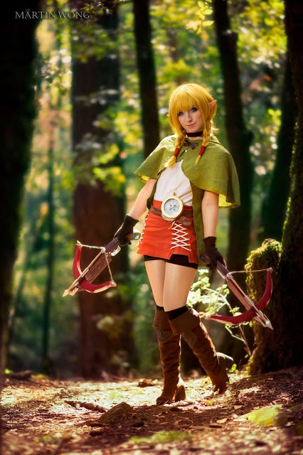 linkle cosplay zelda hyrule warriors