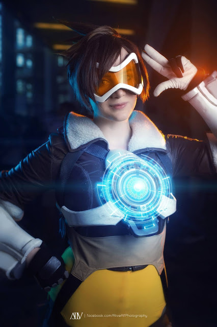tracer overwatch cosplay