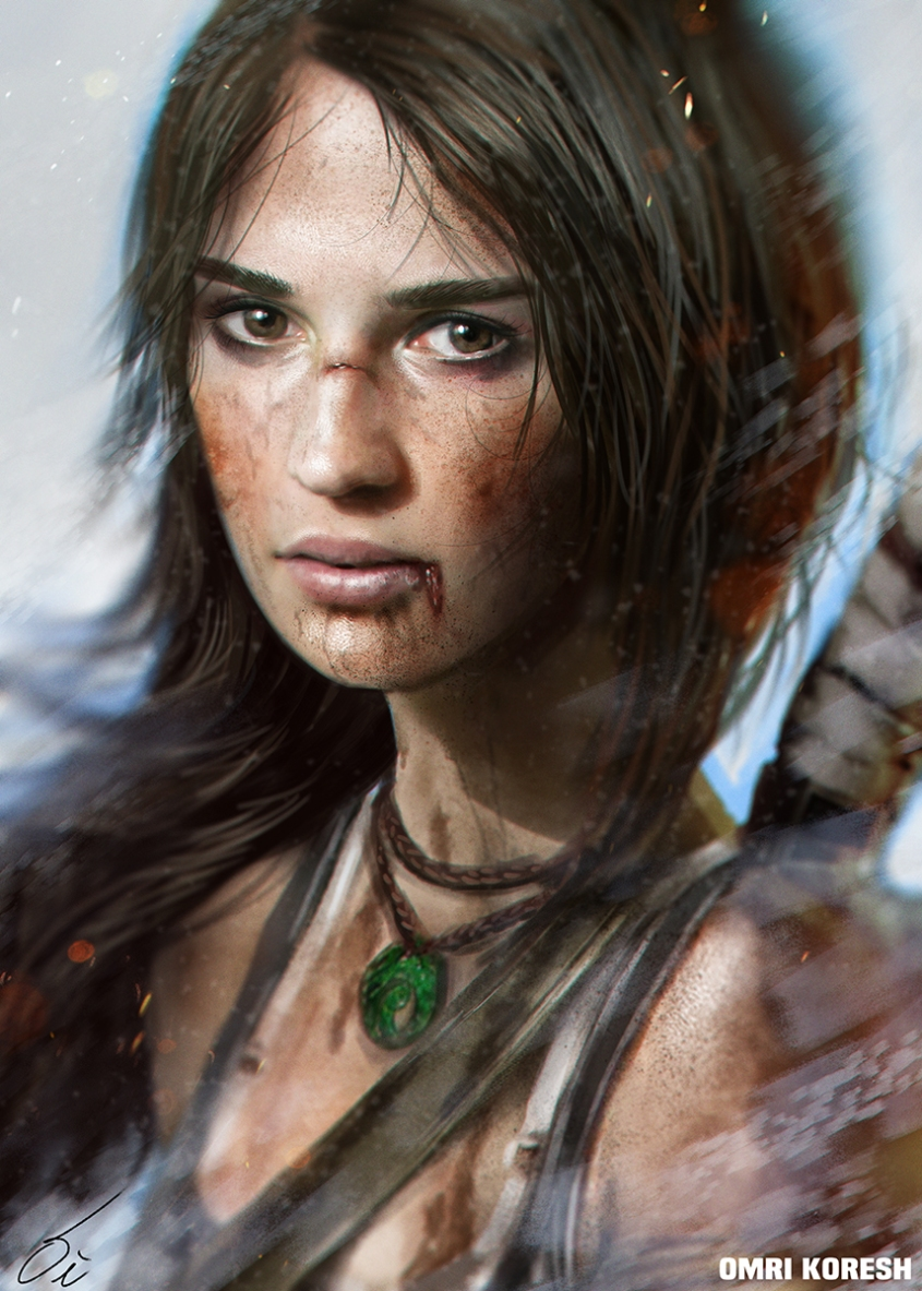 (c) Omri KoreshTomb raider, Lara Croft