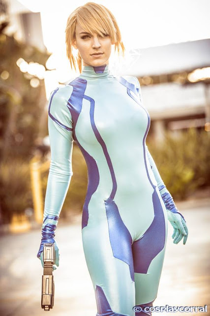 Zero Suit Samus cosplay 2